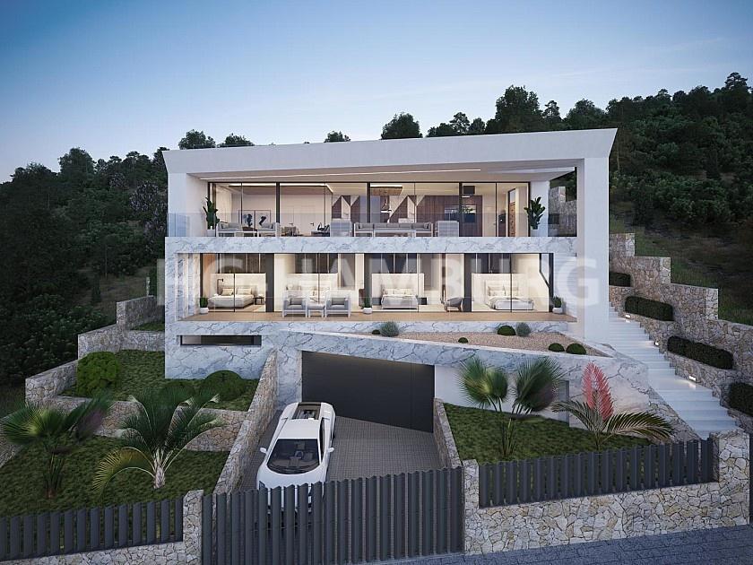 Villa  in Ibiza - Neubau  - HG Hamburg