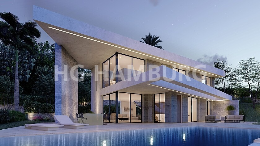 Project in Jávea - New build - HG Hamburg