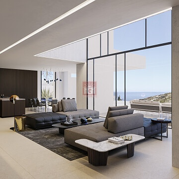 New build project in Granadella Javea with breathtaking views - HG Hamburg