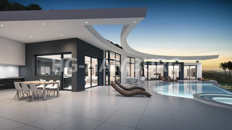 Villa en Moraira - Obra nueva - HG Hamburg